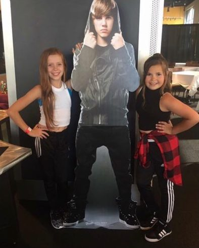 Kylie & Lexi auditioned and were chosen to perform with Justin Bieber on tour